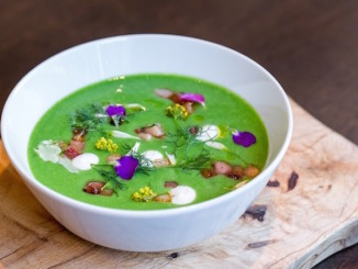 Sweet English Pea Soup Nota Bene