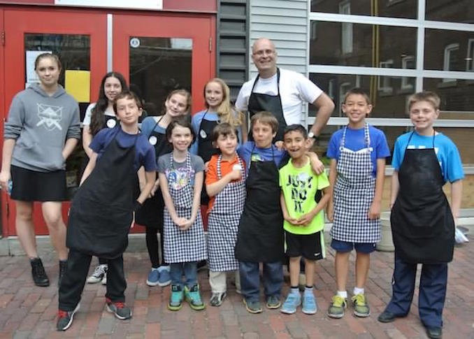 Kids Cook to Care - local charity