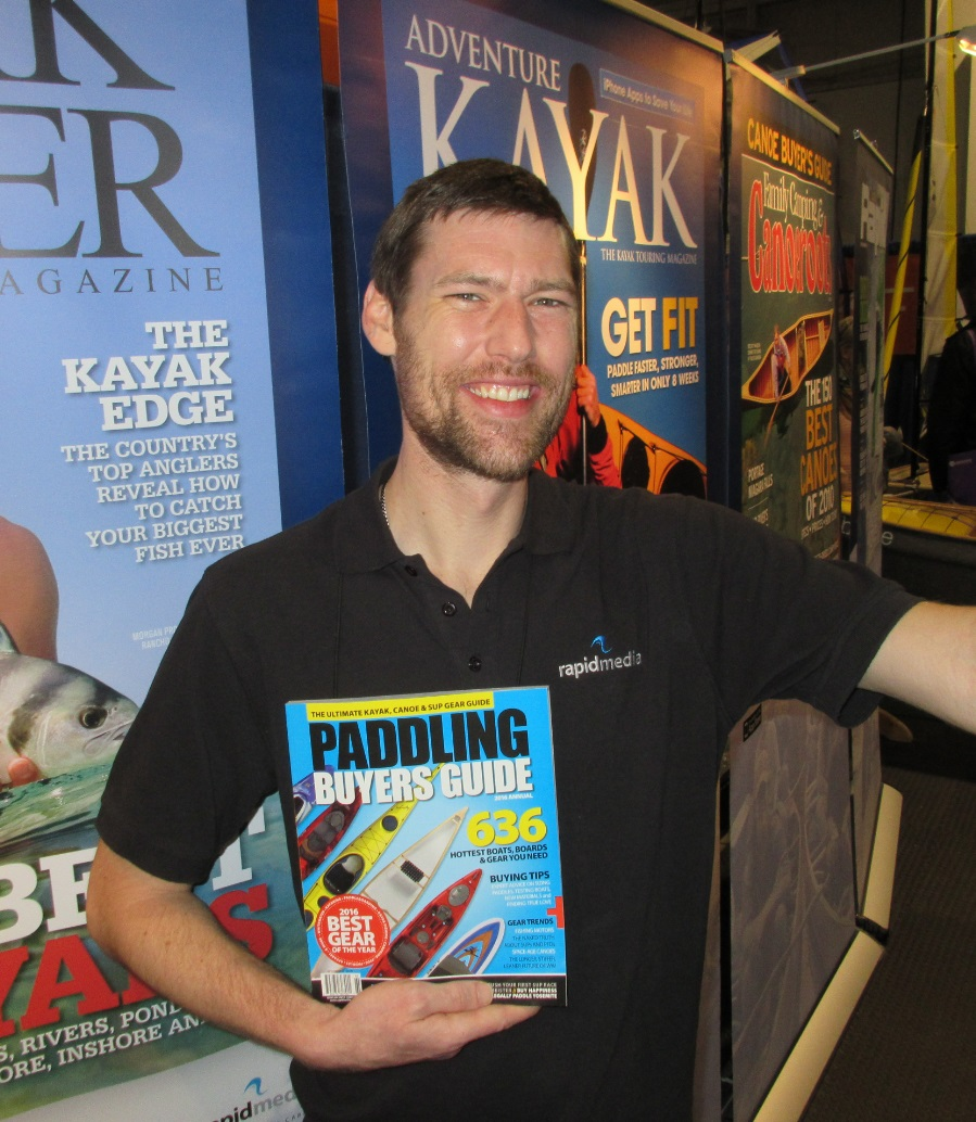 Kayak buyers guide, rapid media