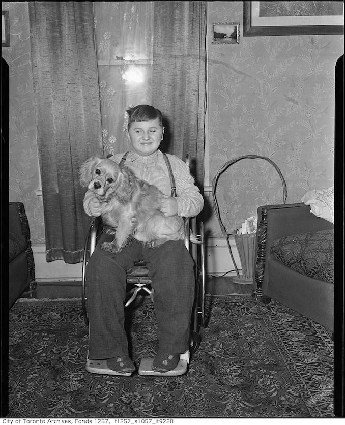 Boy with dog 195?