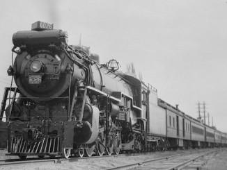 CNR train telephone, test train. - May 5, 1929
