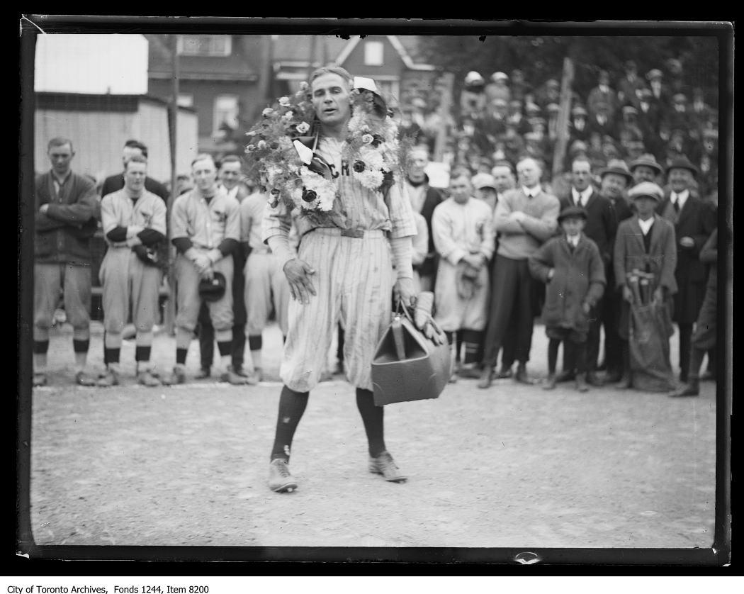 Lionel Conacher of the Hillcrest Baseball Team. - [ca. 1920]