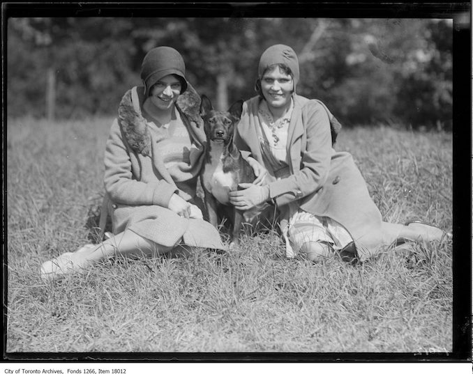 Mary Clarke and Florence Dunn, 41 Marmaduke Street. - September 23, 1929