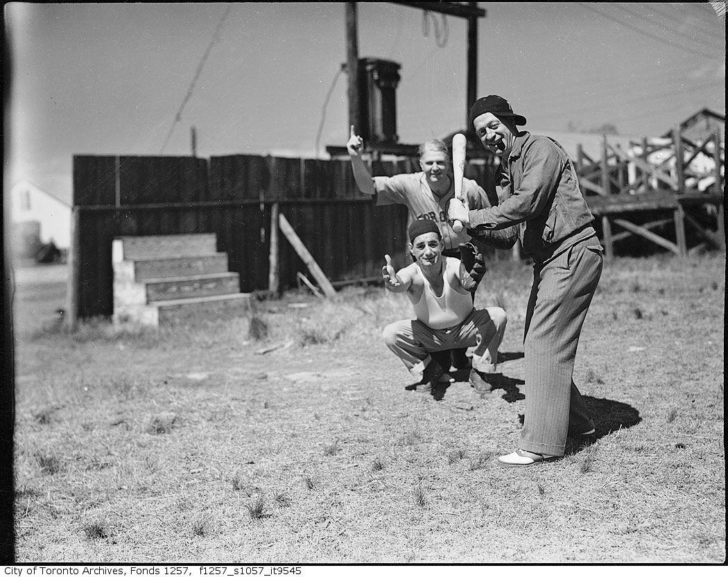 Nat Turofsky playing baseball 1935-1956?
