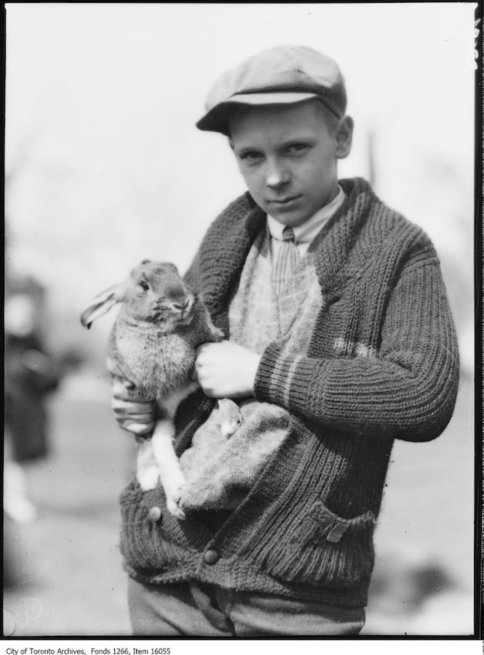 Pets Parade, Maggie, Lloyd Wallace, age 12. - April 2, 1929 - Vintage Animal Photographs