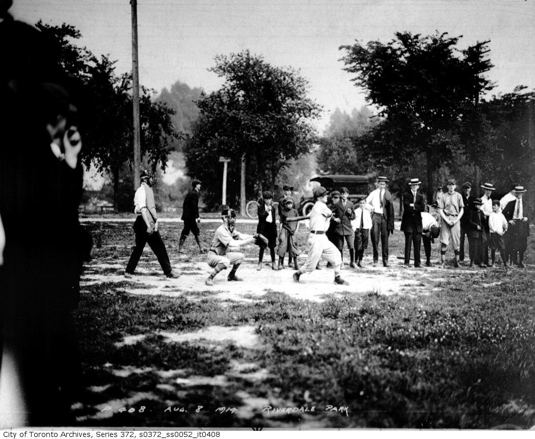 Riverdale Park — baseball aug 8 1914