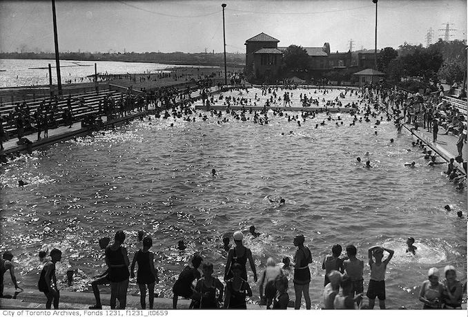 Vintage Swimming Photographs From Toronto