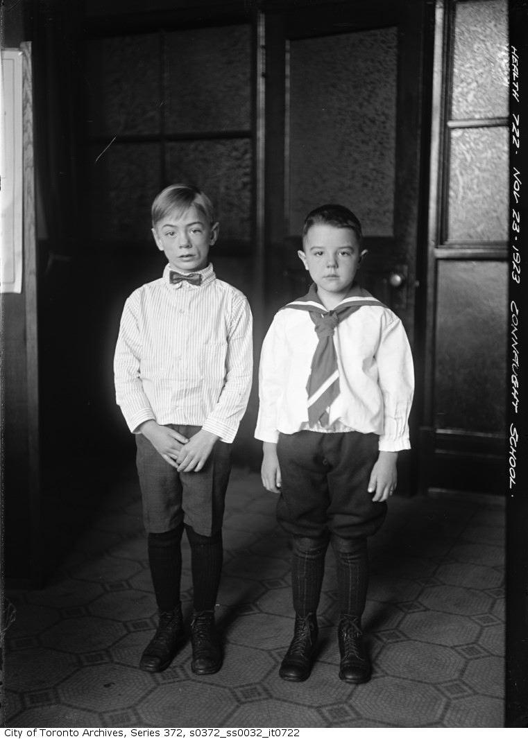 1923 - Children at Connaught School