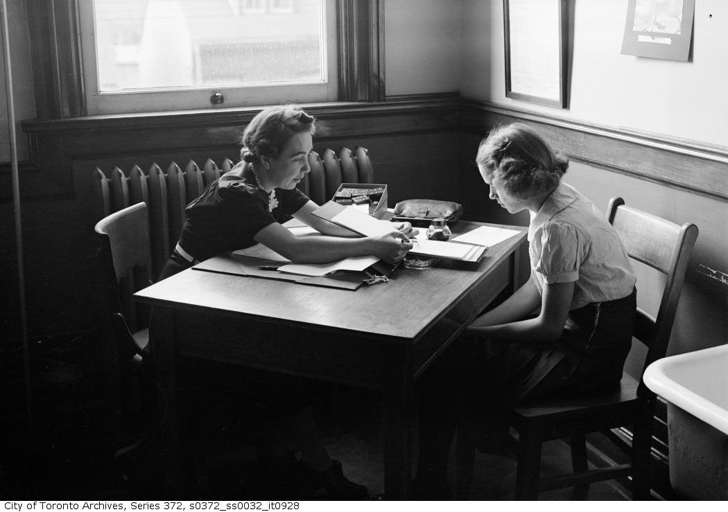 1947 - N.D. School & Medical Services for children