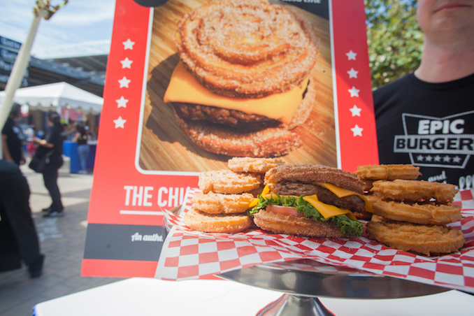 The Churros Cheeseburger