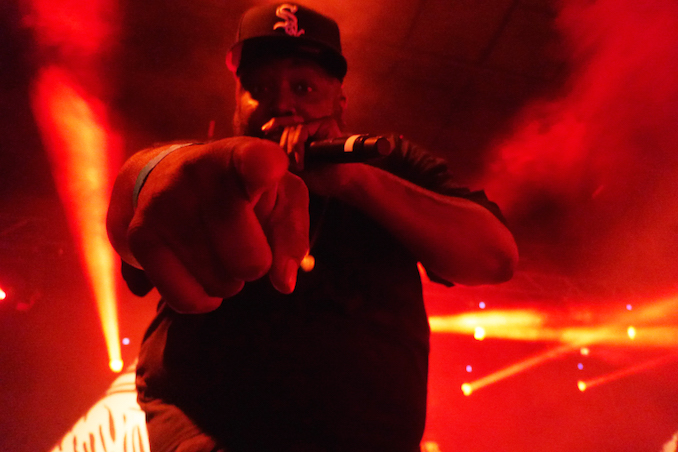 Killer Mike (Run the Jewels) at Time Festival. Photo credit: William Bembridge