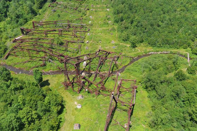 Kinzua Bridge in Pennsylvania - Pennsylvania roadtrip