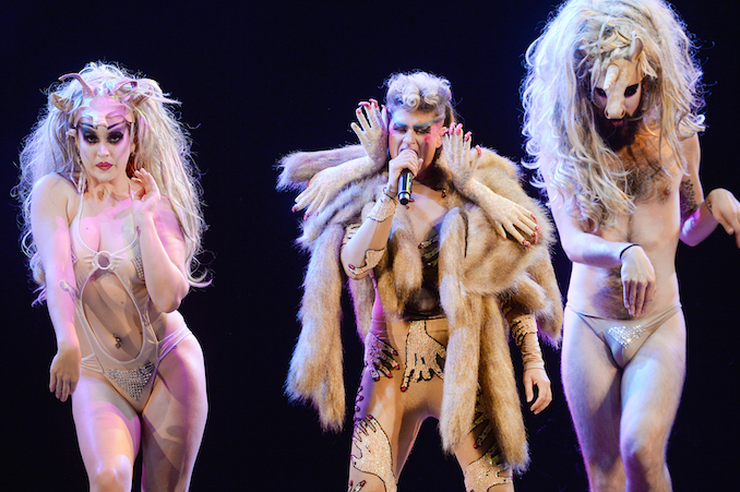 Peaches at Massey Hall in Toronto, August 2016