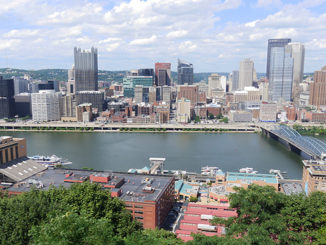 Mount Washington in Pittsburgh - American Road Trip