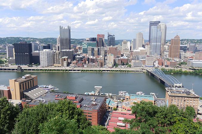 Mount Washington in Pittsburgh - American Road Trip