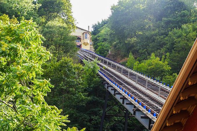 Furnicular Railway in Pittsburgh - American Road Trip