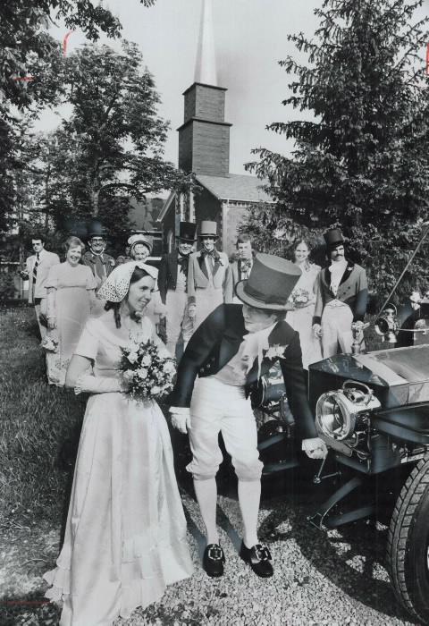 1977-costume-wedding-between-york-university-history-graduate-donald-dayton-and-university-of-toronto-psychology-graduate-barbara-carlson