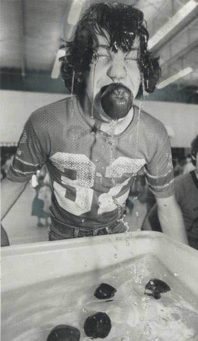 1979-eddie-mcmillan-comes-up-with-a-mouthful-of-apple-and-water