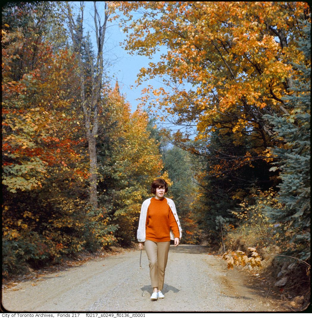 1967? - North York Parks (General) - In autumn - Vintage Autumn Photographs