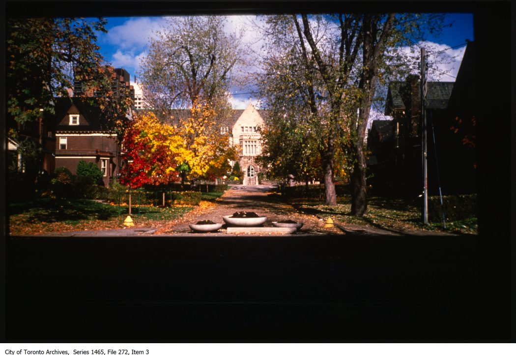 1980-98 - Unidentified location, University of Toronto