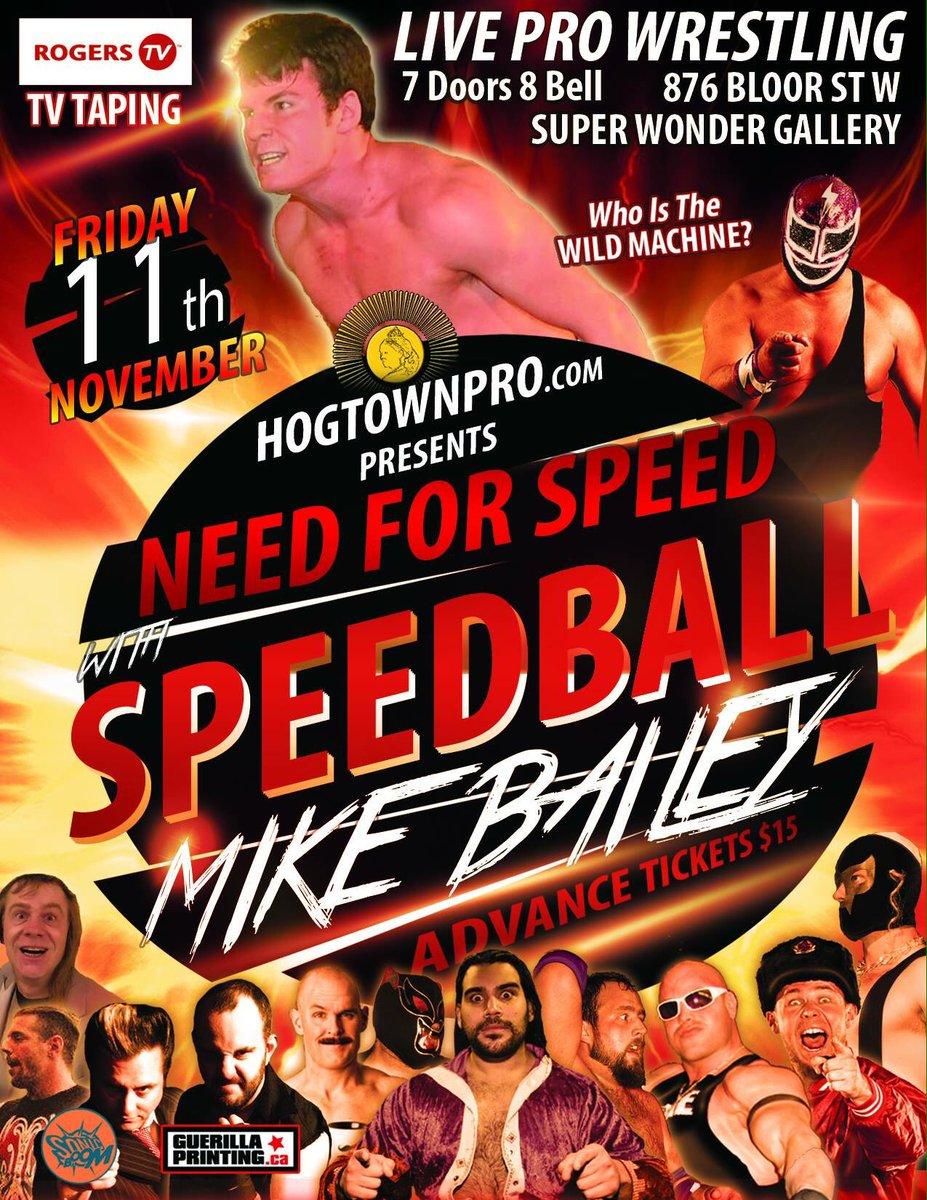 hogtownpro live wrestling nov11 toronto