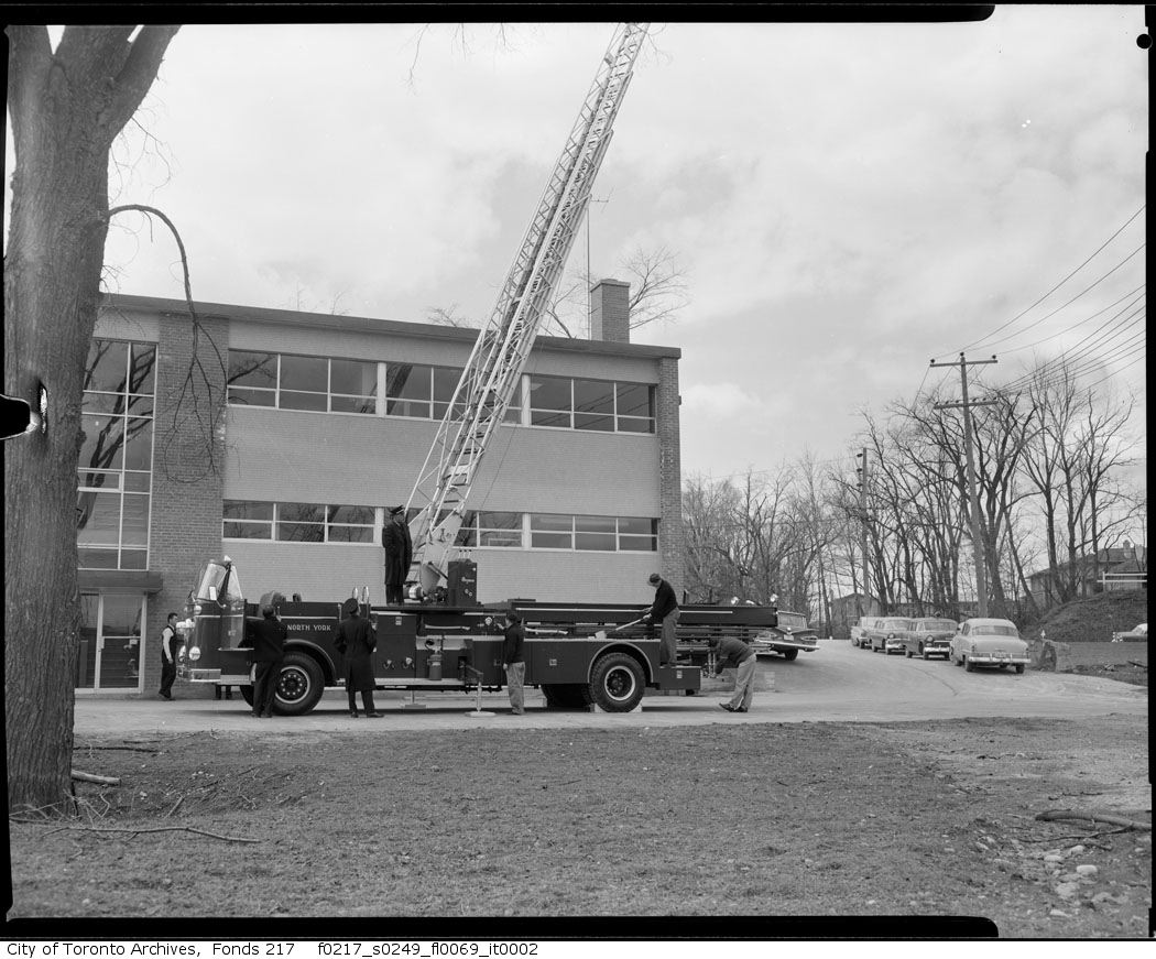 1960 - Fire Department #6 Station