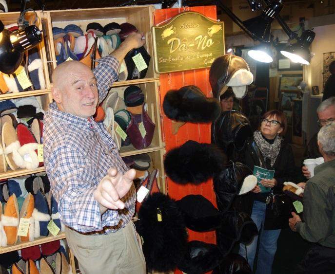Richard at Da-No Slippers