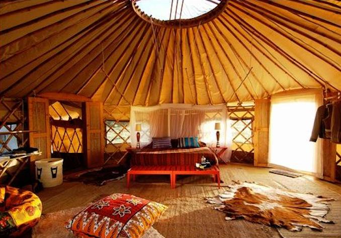 Yurt - Algonquin Park's Mew Lake Campground - Ontario Winter Destinations