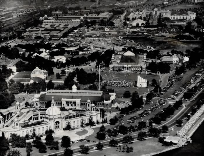 aerial photographs