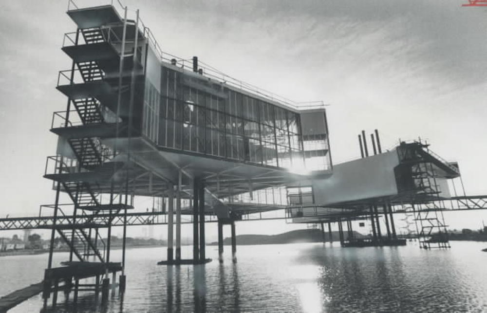 1970 - Pods being completed