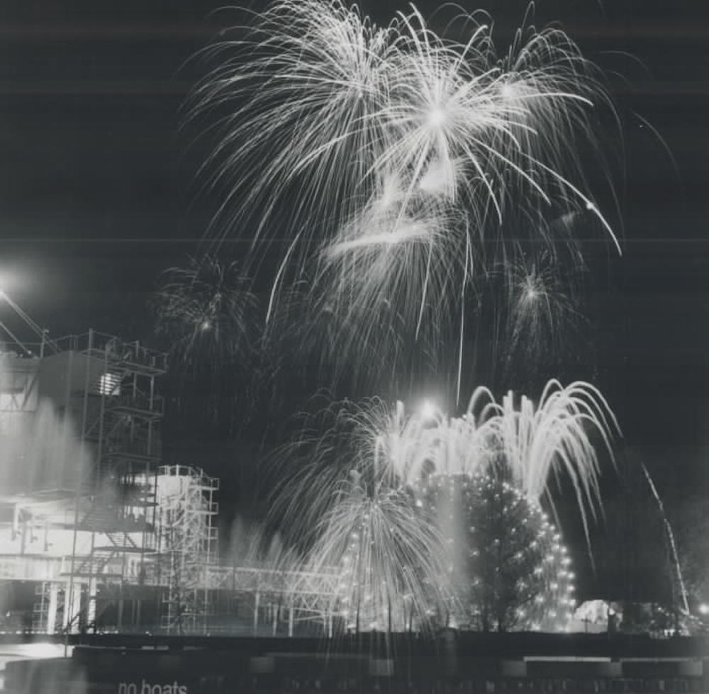 1971 Ontario Place Opening Day Fireworks
