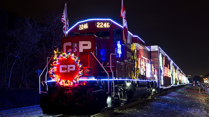 Holiday Train - CJ Burnell