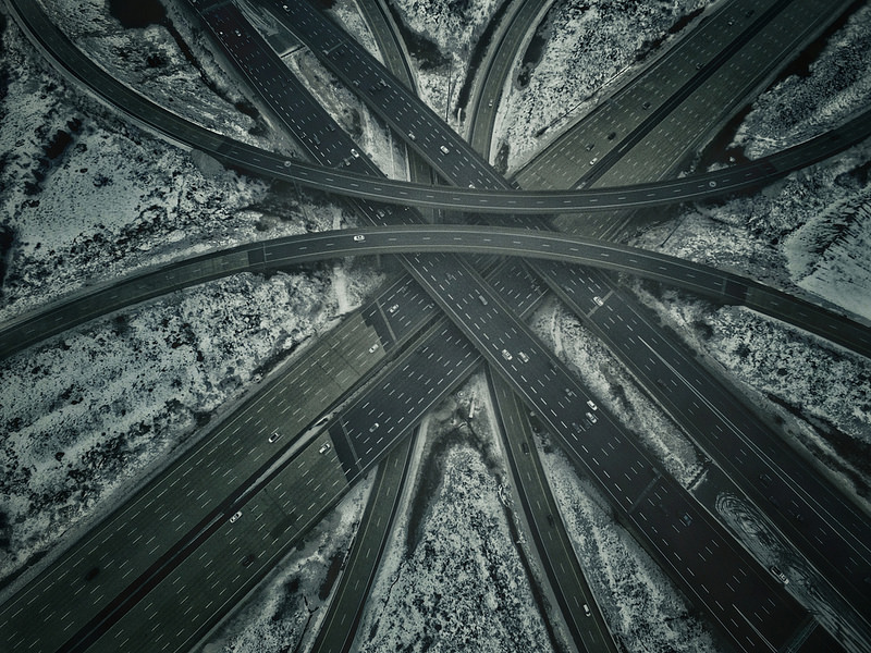 407 highway by Oscar Flores