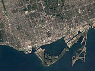 Google Earth Toronto timelapse