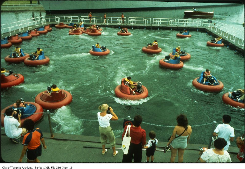 Bumper Boats at Ontario Place