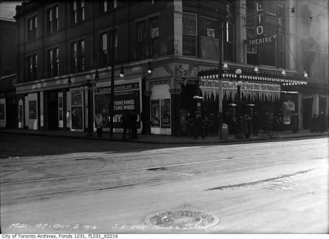 Toronto's Movie Theatres Past - old movie theatres