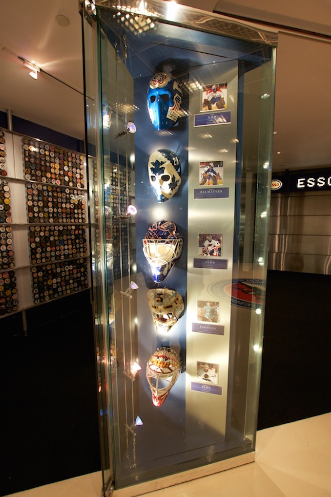 Hockey hall of fame masks