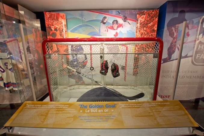 Hockey hall of fame golden