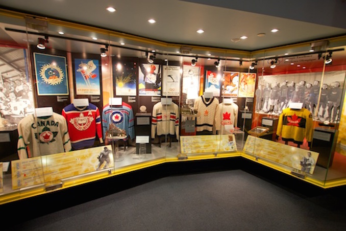 Hockey hall of fame jerseys