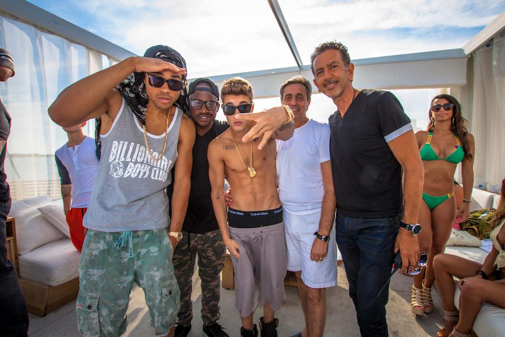 Justin Bieber and Deadmau5