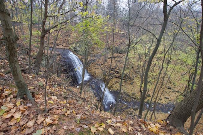 Hamilton waterfalls sherman