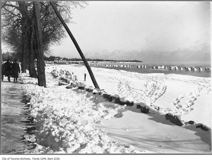 Toronto Winter Photographs Sunnyside. - [ca. 1908]