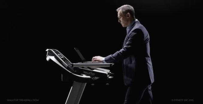 WalkTop's Treadmill Desk