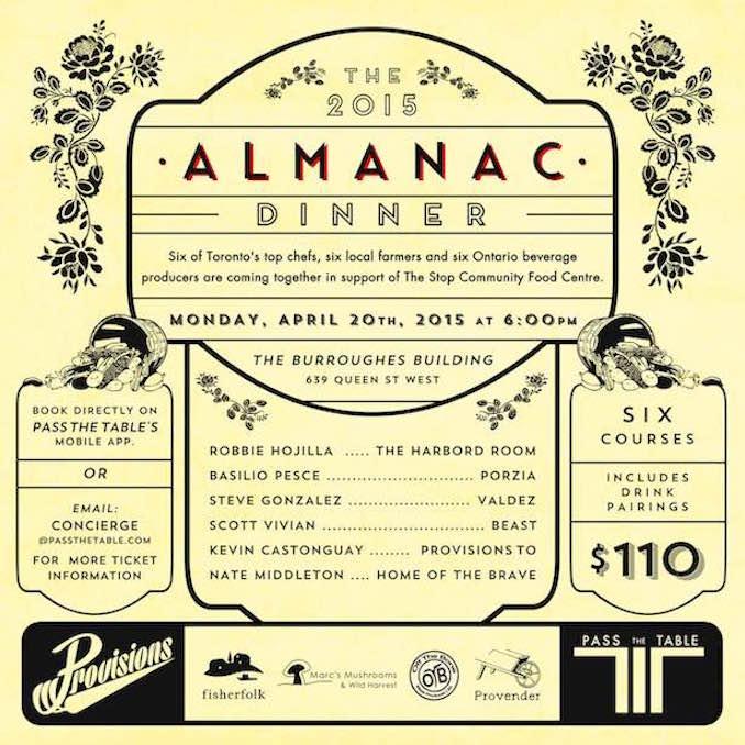 provisons catering almanac