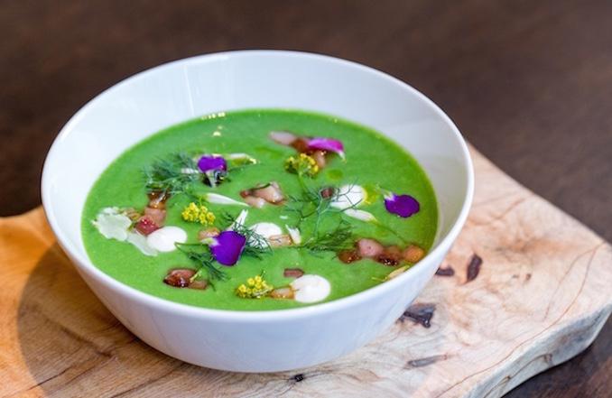 Sweet English Pea Soup Nota Bene