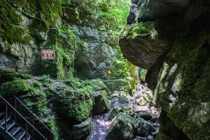 Georgian Bay scenic caves