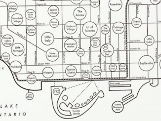 Map of Toronto Neighbourhoods