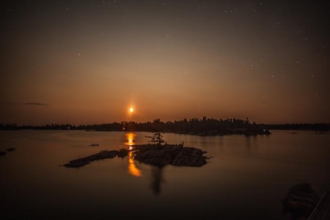 Georgian Bay Camping star gazing