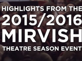 Mirvish 2015/2016 Theatre Season