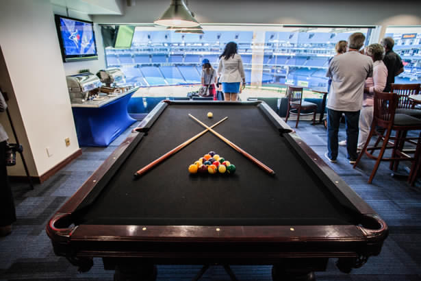 Pool Table Box rogers centre